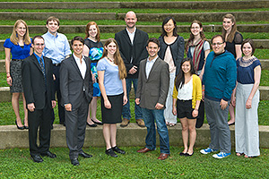 2012 American University Student Award winners.