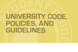 Student Guide - Policy