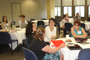 Photo of workshop participants taken by Dr. Anne Burns.<br />