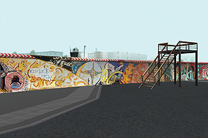 Image from Virtuelle Mauer/ReConstructing the Wall
