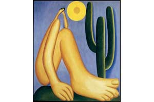 Tarsila do Amaral, Abaporu, 1928. Oil on canvas. 85 x 73 cm.