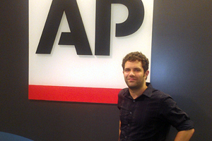 Tony Azios interned as a Dean's intern at AP as a technology associate with the product design team.