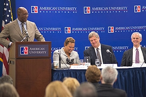 U.S. Trade Representative Ron Kirk speaks at the Technology Market Summit.