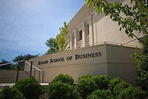 Photo of the Kogod School of Business expansion at American University