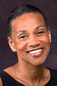 Portrait of Vice Provost for Undergraduate Enrollment, Sharon Alston.