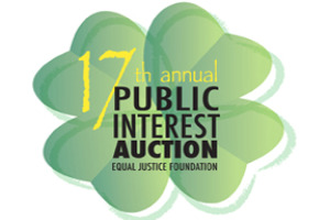 17th Annual Equal Justice Foundation Charity Auction Logo