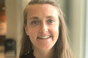 AU student Liz Weber