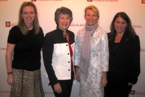 Erin Fuller, Susan Ness, Deborah Taylor Tate and Jennifer Lawless