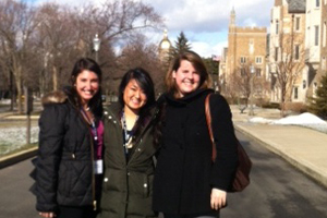 Undergrads at Gender and Foodways conference
