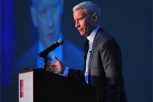 Anderson Cooper Accepts Award
