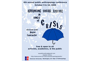 Conference poster: Advancing Social Justice in Times of Crisis