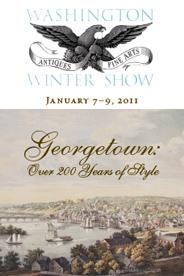 Logo of the 2011 Winter Antiques Show.