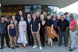 Ten new artistic directors standing together