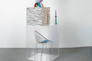 Part of Glass House, work by Alex Da Corte.