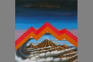 Dan Perkins, Mountain, 2012, Oil on canvas