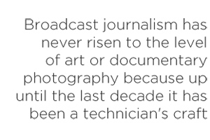 Backpack journalism quote