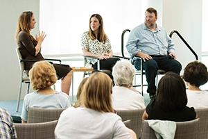 SPA Executive in Residence, Betsy Fischer Martin interviews authors Amie Parnes and Jonathan Allen about their new book, Shattered.