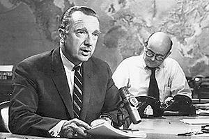 Photo: Walter Cronkite and Ed Bliss
