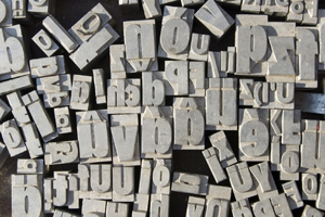 Movable Type Pieces