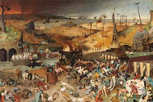 Pieter Bruegel the Elder, Triumph of Death, circa 1562. Credit: Prado Museum.