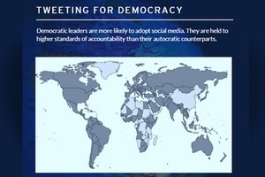 Tweeting for Democracy flyer
