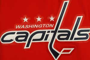 Washington Capitals logo.