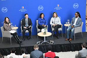 Sylvia Burwell, Eric Liu, Susan Rice, Maria Elena Salinas, Ibram Kendi