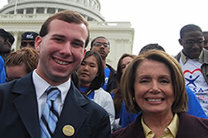 Chris Golden and Nancy Pelosi