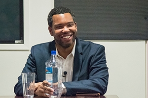 Photo of Ta-Nehisi Coates by Jeff Watts