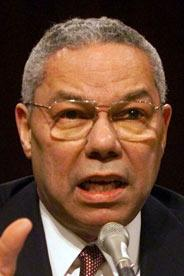 Colin Powell 2001, Copyright Gannett, Tim Dillon, USA Today