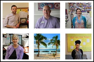 OCL Staff Members collage