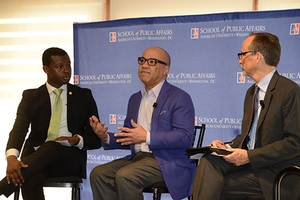 Darren Walker speaking