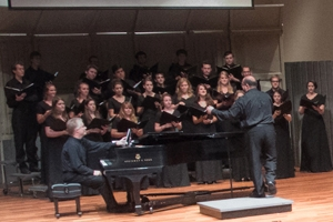 AU's Chamber Singers perform.