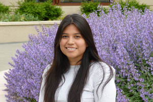 Ellen Mata is the School of Communciation Staffer of the Year