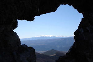 Photo: Peak of the Canigou in the Pyrenees by Sylvain Perrinel