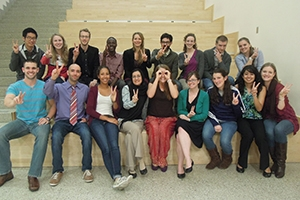 The EPGA program students and faculty