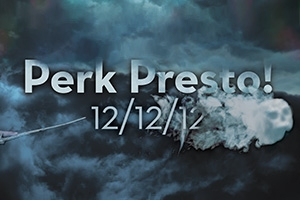 Perk Presto!  Wizard-themed Final Perk  12/12/12