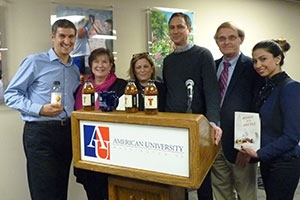 Honest Tea CEO Seth Goldman spoke at American University's DC Startup Forum