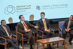 Panelists at National Law Enforcement Museum event