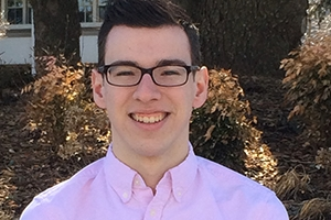 Brian Hamel, SPA/BA '16, is pursuing an undergraduate degree in political science at AU's School of Public Affairs.