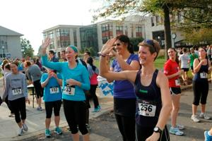WPI_5K 2012 High Fives
