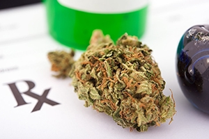 Medical marijuana prescription.