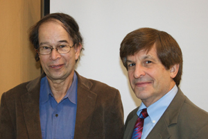 Photo of Richard Breitman and Allan Lichtman by Vanessa Robertson.