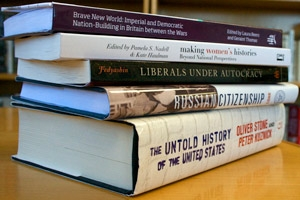 History faculty books
