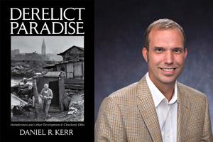 Daniel Kerr's Derelict Paradise book cover.