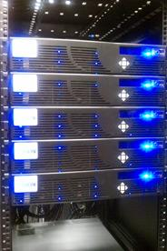 High-Performance Computing rack