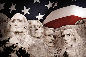 What makes a person, like George Washington, Thomas Jefferson, Theodore Roosevelt and Abraham Lincoln, decide to run for office?