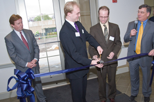 AU celebrates the official completion of the new Kogod building expansion.