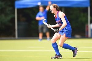Natalie Konerth on the AU field.