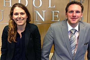 Renee Ledoux and Andrew Olson